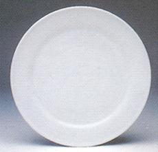 จานเซรามิค,จานกลม,จานหวาน,จานแบ่ง,ใส่อาหาร,Dessert Plate,P4046,ขนาด 22.5 cm,เซรามิค,พอร์ซเลน,Ceramic