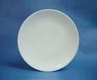 จานเซรามิค,จานกลมก้นลึก,จานคูฟเพลท,Round Coupe Plate,รุ่นP4053,ขนาด 24 cm,เซรามิ