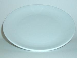 จานเซรามิค,จานกลมก้นลึก,จานคูฟเพลท,จานบีบีจานขนมปัง,Round BB Coupe Plate,รุ่นP4054,ขนาด 14.5 cm,เซรา