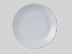 จานเซรามิค,จานดินเนอร์จานกลมก้นลึก,จานคูฟเพลท,Round Dinner Coupe Plate,รุ่นP4057,ขนาด 27 cm,เซรามิค,
