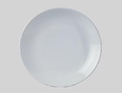 จานเซรามิค,จานพาสต้าจานสเต็กจานกลมก้นลึก,จานคูฟเพลท,Round Pasta Steak Coupe Plate,รุ่นP4059,ขนาด 34.