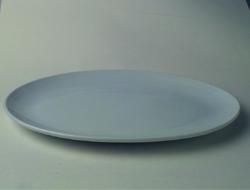 จานเซรามิค,จานวงรี,จานเปล,จานโอเวิลคูฟเพลทจานใส่อาหาร,Oval Coup Plate,รุ่นP4067,ขนาด 46 cm,เซรามิค,พ