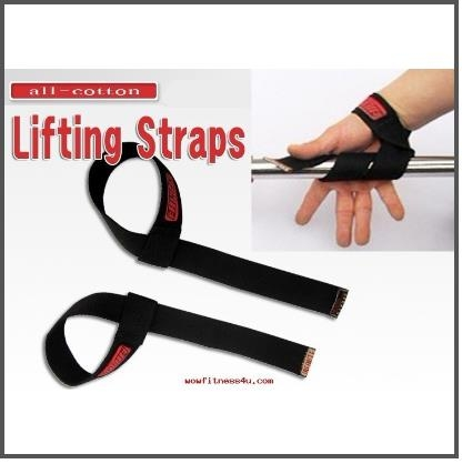 PR-183แสแตปStraps-Power Lifting Straps Basic Lifting Straps แสแตป