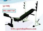 เก้าอี้นอนยกน้ำหนักมาตรฐาน sp-168j