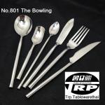 ส้อมชาส้อมเค็กส้อมค็อกเทล,Handmade,Cocktail Fork,รุ่น 801 The Bowling,สแตนเลส,Stainless 18/8,18/10,ร