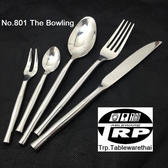 มีดคาวมีดโต๊ะ,Handmade,Dinner/Table Knife,รุ่น 801 The Bowling,สแตนเลส,Stainless 18/8,18/10,รับประกั