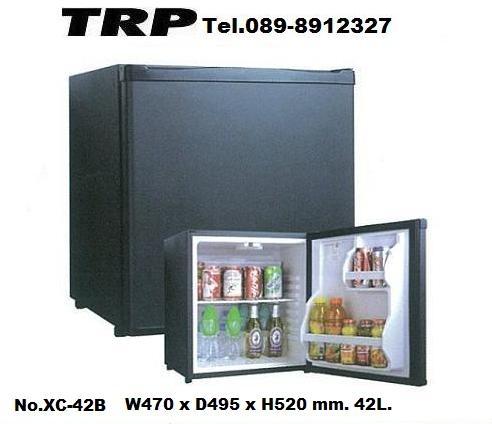 Mini Bar Hotel,มินิบาร์โฮเทลตู้เย็นโรงแรมตู้เย็นเล็กรุ่น XC-42B ขนาดW470xD495xH520mm.จุ 40L,สีดำ,สำห