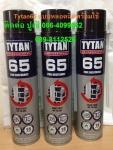 ปูเป้0864099062สินค้าTYTAN 65 โฟลียูรีเทนโฟม ชนิดไม่ติดไฟ กันไฟและบล็อกไฟ ผ่าน D