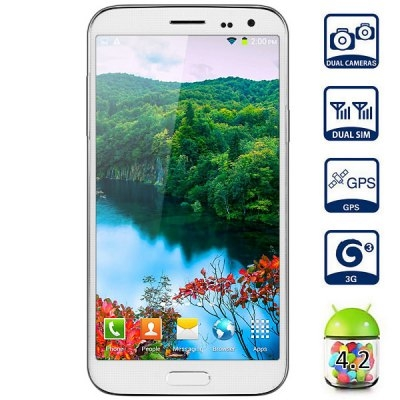 Kingelon G9000 5.2 inch Android 4.2 3G Smartphone MTK6592 Octa Core 1.7GHz 1GB RAM 8GB ROM FHD Scree