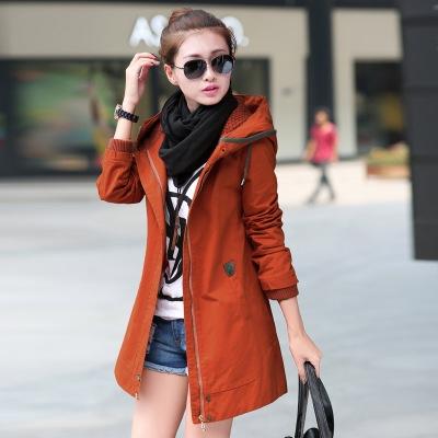 CW5709020 เสื้อแจ็กเก็ต กันหนาว ผ้าฝ้าย คอปก มีฮูโ อบอุ่นมาก แฟชั่นเกาหลี  (พรีออเดอร์)