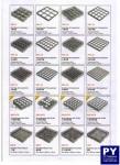 ชั้นต่อแร็คเสริมขอบแร็ค,36 ช่อง,Glass Rack,รุ่น TR-1-36,ขนาด 50x50 cm,สูง 4 cm.(