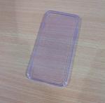 เคสไอโฟน 6 (4.7) เคสยางสีม่วงใส