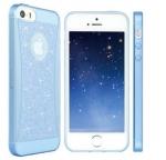 เคสไอโฟน 6 (4.7) เคสยางกากเพรช สีฟ้า