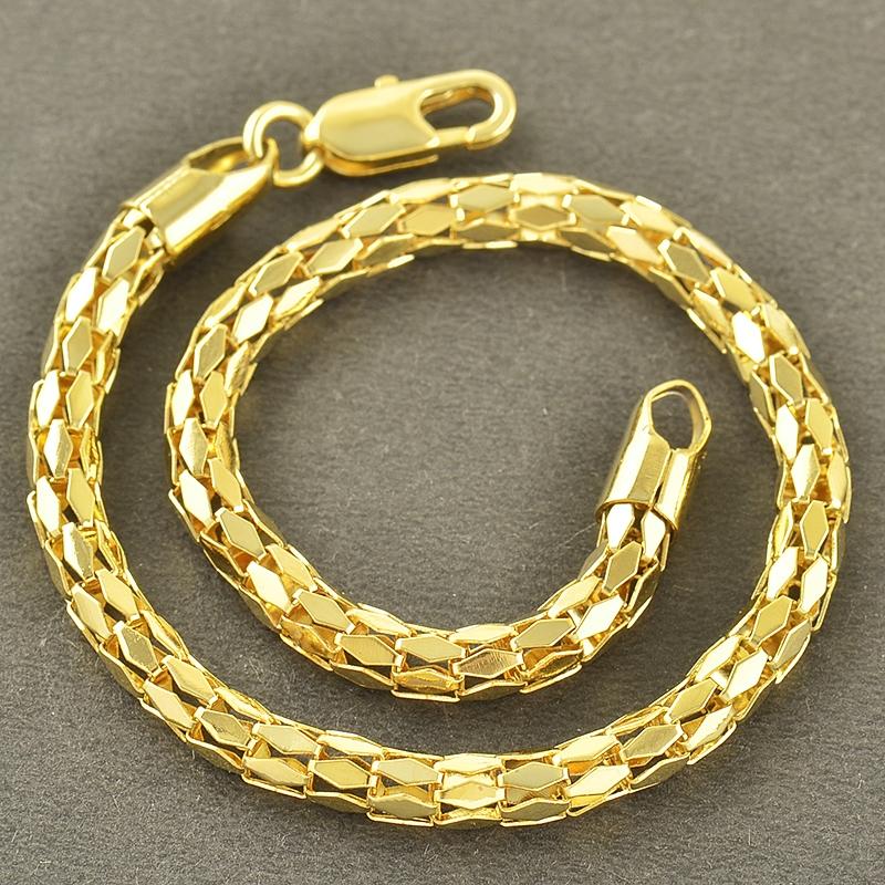 สร้อยข้อมือทองคำ 18k gold filled ดีไซน์สวย