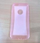 เคสไอโฟน 6 พลัส เคสยางกากเพรช สีชมพู