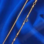 สร้อยคอทองคำ 18k gold filled ดีไซน์หรู การันตีคุณภาพ ขนาด 600x3 มิลลิเมตร