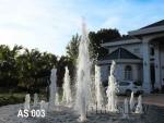 น้ำพุ ฮวงจุ้ย หน้าบ้าน คุณ อุษา บ่อน้ำพุวงกลม