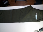 กางเกงผ้าสีเขียวทหาร