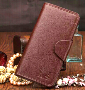 Leather Wallet (Brown)