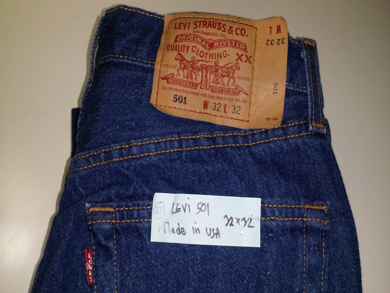 LEVI'S 501 SIZE 32*32 MADE IN USA