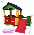 บ้านเด็กพร้อมสไลด์ ยี่ห้อ Happy box สินค้าจากเกาหลี
