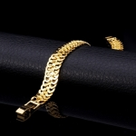 สร้อยข้อมือทอง 18k gold filled ดีไซน์เลข 8 เครื่องประดับมงคล สวยหรู