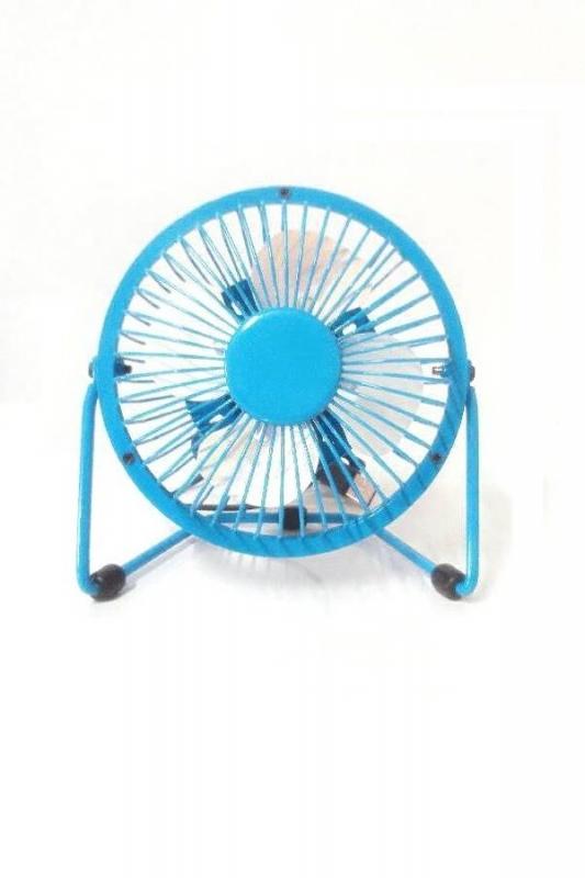 พัดลม usb คอมพิวเตอร์ สีฟ้า