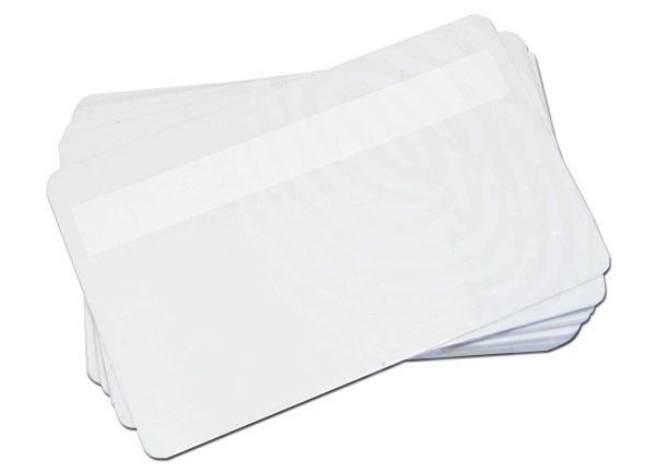 บัตรพลาสติกเปล่าสีขาว 0.5 เครื่องพิมพ์ dyesub ทุกยี่ห้อ