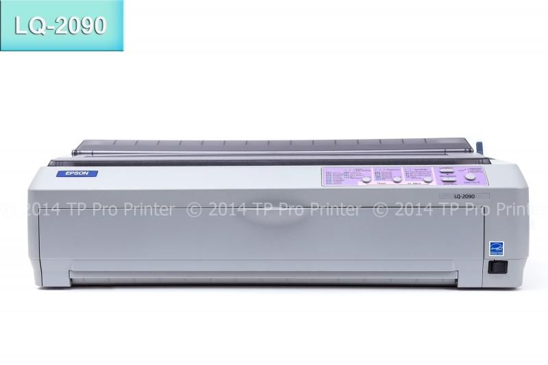 EPSON LQ-2090 รุ่นเล็กของเครื่องแคร่ยาว เพิ่มทางเลือกพิมพ์ได้ ทั้ง Report A3- บิล A4
