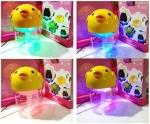เครื่องฟอกอากาศระบบน้ำใช้ในรถยนต์ ลายสัตว์น่ารัก LED