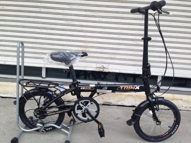จักรยานพับได้ Trinx รุ่น KA1606 ล้อ 16 นิ้ว