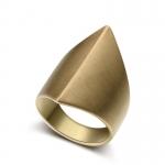 แหวนทอง 585 ทรง geometric ดีไซน์วินเทจสวยหรู มีให้เลือก 2 ไซส์