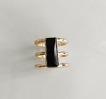 แหวนทองวินเทจประดับพลอยดำ สวยเก๋มากค่ะ