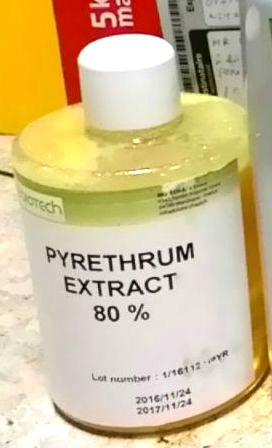 ของหมด Pyrethrum Extract 80%