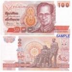 ขาย ธนบัตร 100 บาท แบบที่ 14 สภาพใหม่ ไม่ผ่านการใช้ (UNC)