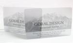 โฟโต้การ์ดใส มุมมน บัตรผิวมัน 0.5 mm.