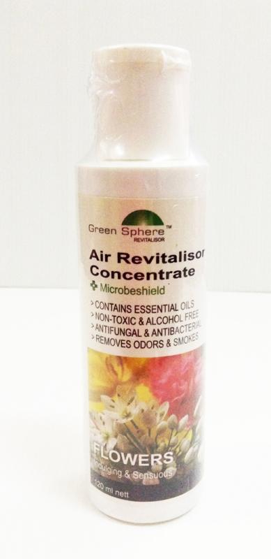 GreenSphere กลิ่น Flowers ขนาด 120 ml **ส่ง 3 ขวด ราคาต่อขวด