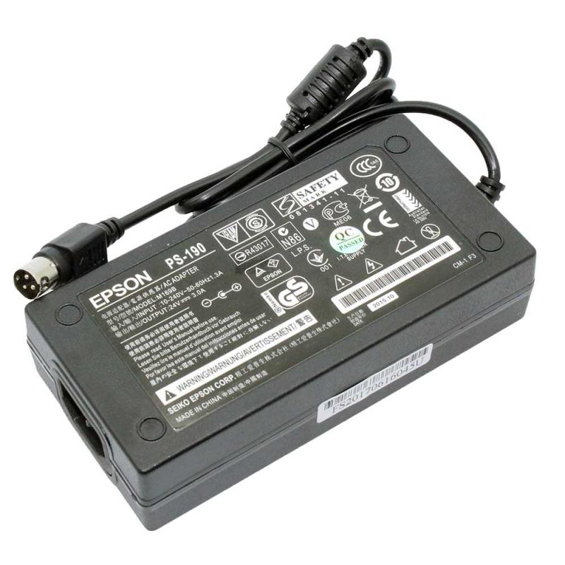 Adapter Printer/Scanner Epson Output = 24V/3A (3 Pin) ของแท้