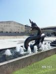 บ่อน้ำพุพญานาค พ่นน้ำใส่ลูกแก้ว ที่ บ.KSN Capital จำกัด บางพลี