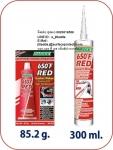กาวแดงทนความร้อน ซิลิโคนประเก็นเหลว HARDEX RS650 HI-TEMP RED