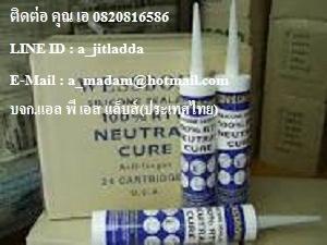 กาวซิลิโคนยาแนวฟู้ดเกรด ไม่มีกลิ่น  อุดรอยต่อช่องว่างช่องโหว่ WESSBOND SILICONE SEALANTS NEUTRAL 300