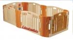 คอกกั้นเด็กเกาหลี ยี่ห้อEduplay รุ่น Happy baby room (สีน้ำตาลครีม) Size M