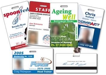 บัตรพลาสติกพนักงาน Employee Card 0.76
