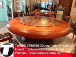 ขนาดโต๊ะรับประทานอาหาร 18 ที่นั่ง ขนาดโต๊ะจีน 18 ที่นั่ง ขนาดโต๊ะทานข้าว 18 ที่น