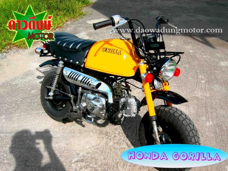 Honda Monkey Honda Gorilla