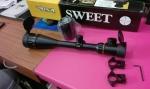 กล้องติดปืนยาวBSA contender มีไฟ ปรับหลาได้ รุ่นaoe