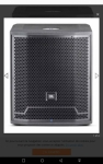 JBL PRX 715 XLF Sub Woofer active speaker
