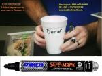 ปากกาเคมีฟู้ดเกรด ชนิดสัมผัสอาหารได้ Safe Mark Food Contact Marker
