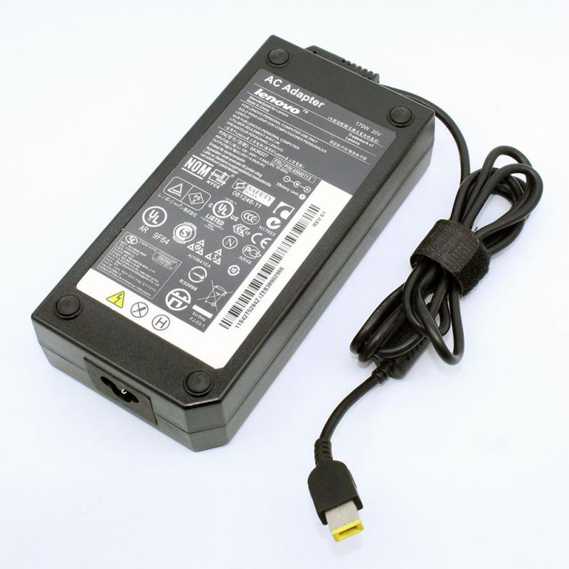 Adapter Notebook IBM/Lenovo 20V/8.5A USB Tip ของแท้ ประกัน 1 ปี