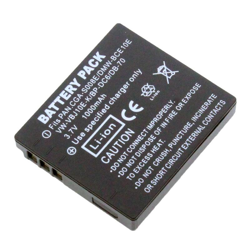 แบตเตอรี่ สำหรับกล้อง Ricoh รหัสแบต DB-70+ (ความจุ 1000mAh) ประกันร้าน 6 เดือน